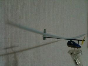 電池飛行機その2