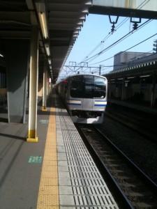 これは西大井駅