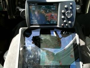 GERMIN GPSmap495 vs iPad