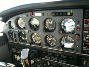 Instrument Panel on Piper Turbo Arrow