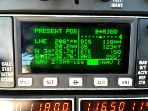 GPS on the Piper Turbo Arrow