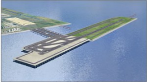 New D-Runway at Haneda, Tokyo International Airport