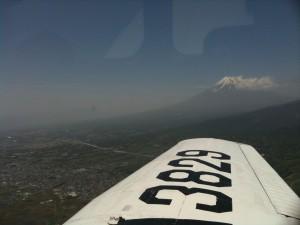 駿河湾側より富士山